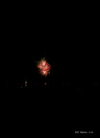 Salt Creek Casino's Fireworks about 5 miles away